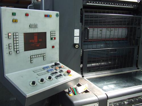 impresora heidelberg moz 91 2 colores