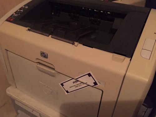 impresora hp 1022  con toner nuevo reciclado