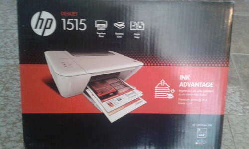 impresora hp 1515 multifuncional