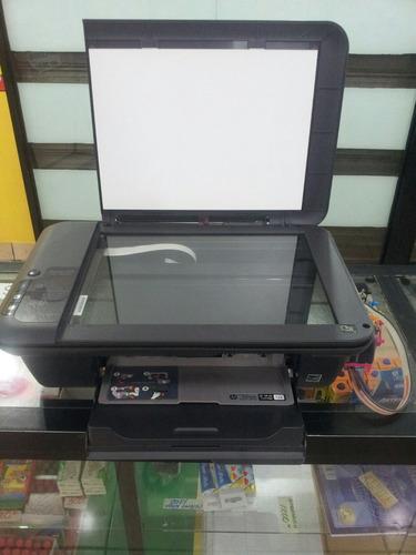 impresora hp 2050 con sistema de tinta continua usada