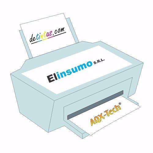 impresora hp 3635 escaner wifi + kit recarga cartuchos 400ml