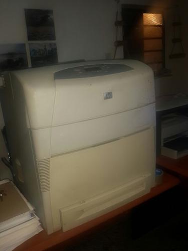 impresora hp 5550 tabloide imprimiendo con toner
