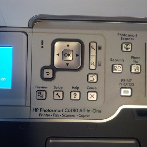 impresora hp c6180 multifuncional