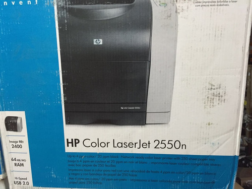 impresora hp color laserjet 2550n