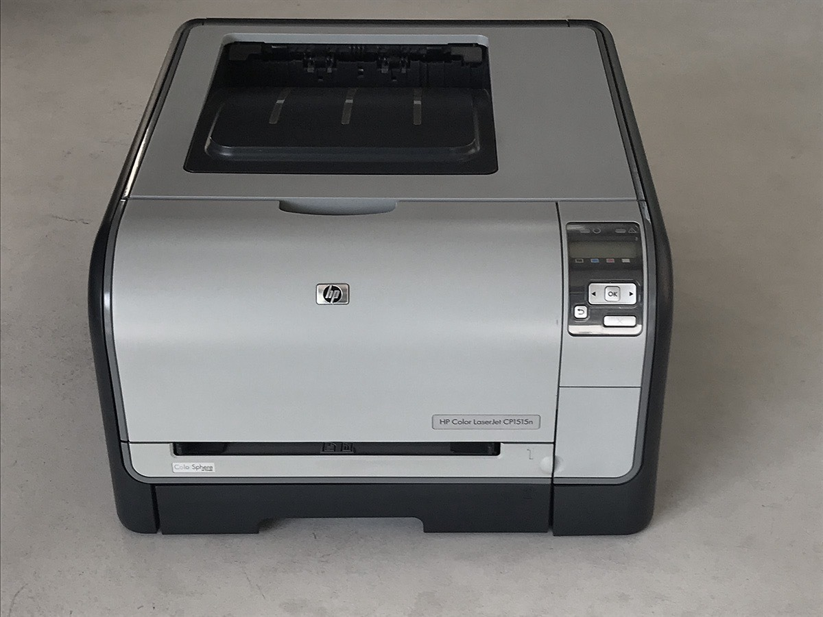 Impresora Hp Color Laserjet Cp1515n 2 500 00 En Mercado Libre