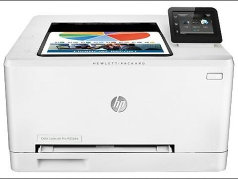 impresora hp color laserjet pro m252dw ¡¡nueva!!