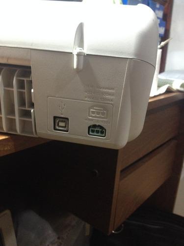 impresora hp deskjet 3535 con funete y cartuchos llenos