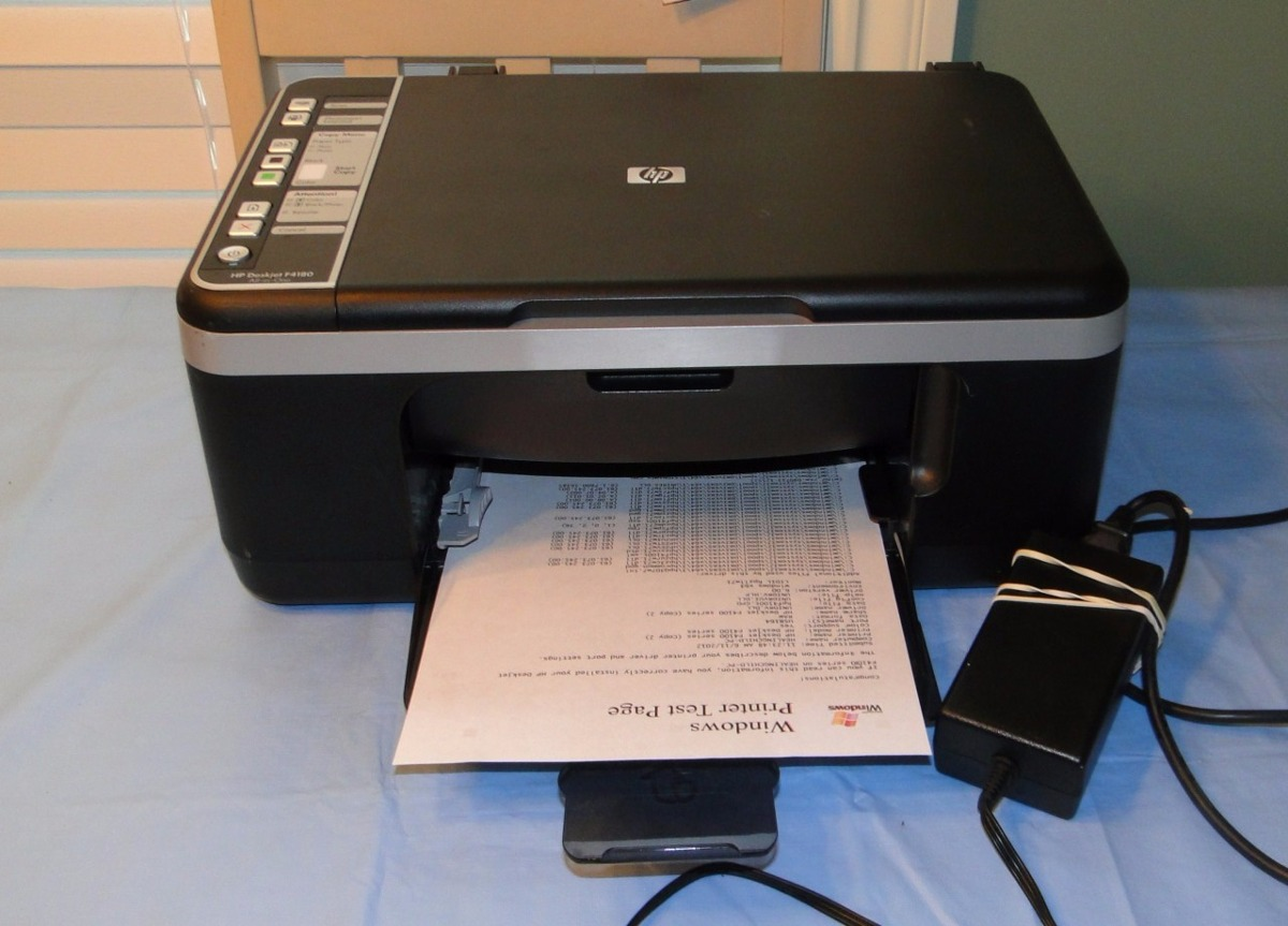 impresora hp deskjet f4180 bs 0 45 en mercado libre. Black Bedroom Furniture Sets. Home Design Ideas