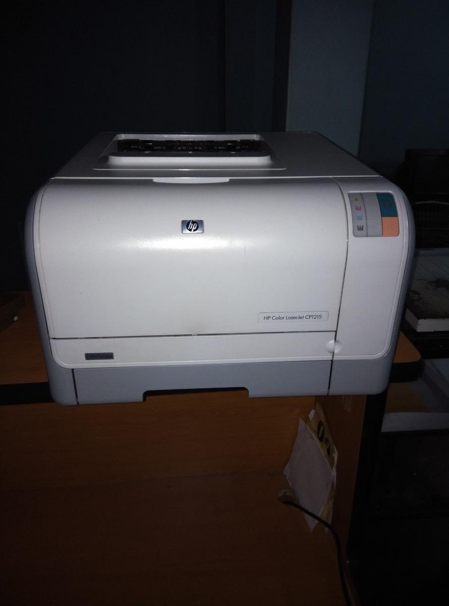 Impresora Hp Laser Cp1215 A Color Al Mejor Precio - Bs. 75.000,00 en ...