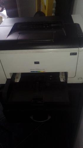 impresora hp laser jet cp1025 new color