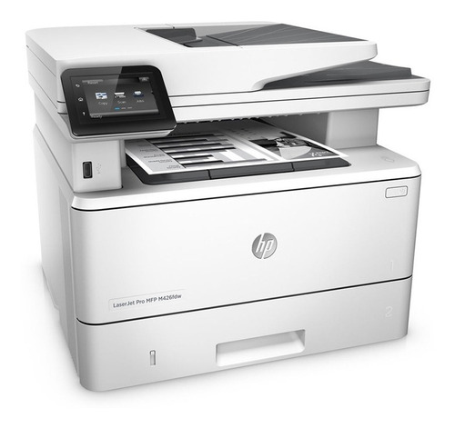 impresora hp laser m426fdw multifuncional duplex - blanco
