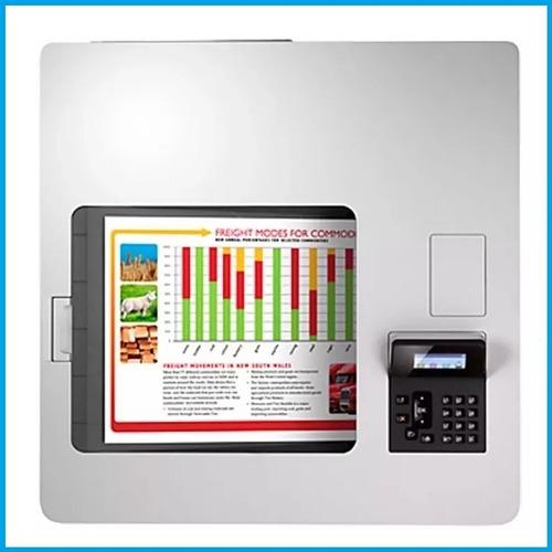impresora hp laser m553dn b5l25a color nfc oferta