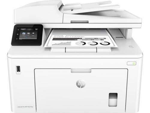impresora hp laser monocromatica multifuncional m227fdw wifi
