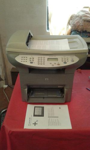 impresora hp laserjet 3380 funcionando . scanner agotado