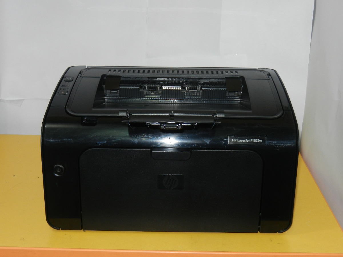 impresora hp laserjet p1102w wifi como nueva s 250 00 en mercado libre. Black Bedroom Furniture Sets. Home Design Ideas