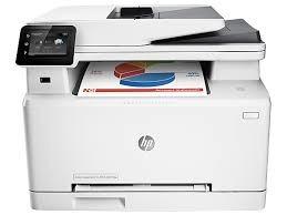 impresora hp laserjet pro mfp m277dw