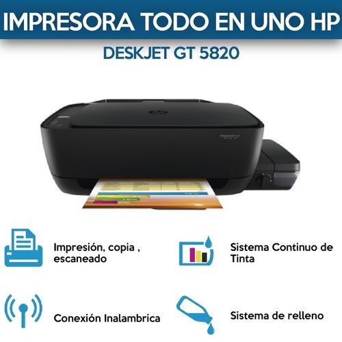 impresora hp multifuncion carga continua  wifi