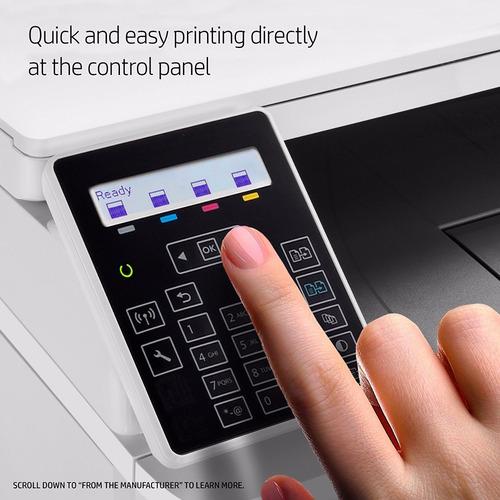 impresora hp multifuncion laserjet pro m180nw wifi ctas