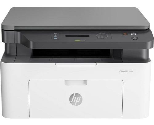 impresora hp multifuncion monocromatica laser m135w m135 wifi ex m130