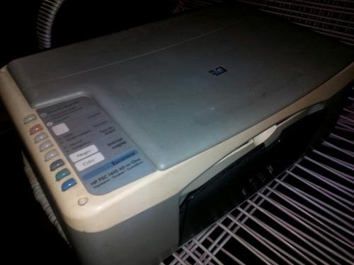 impresora hp multinacional 1410 sin cartuchos