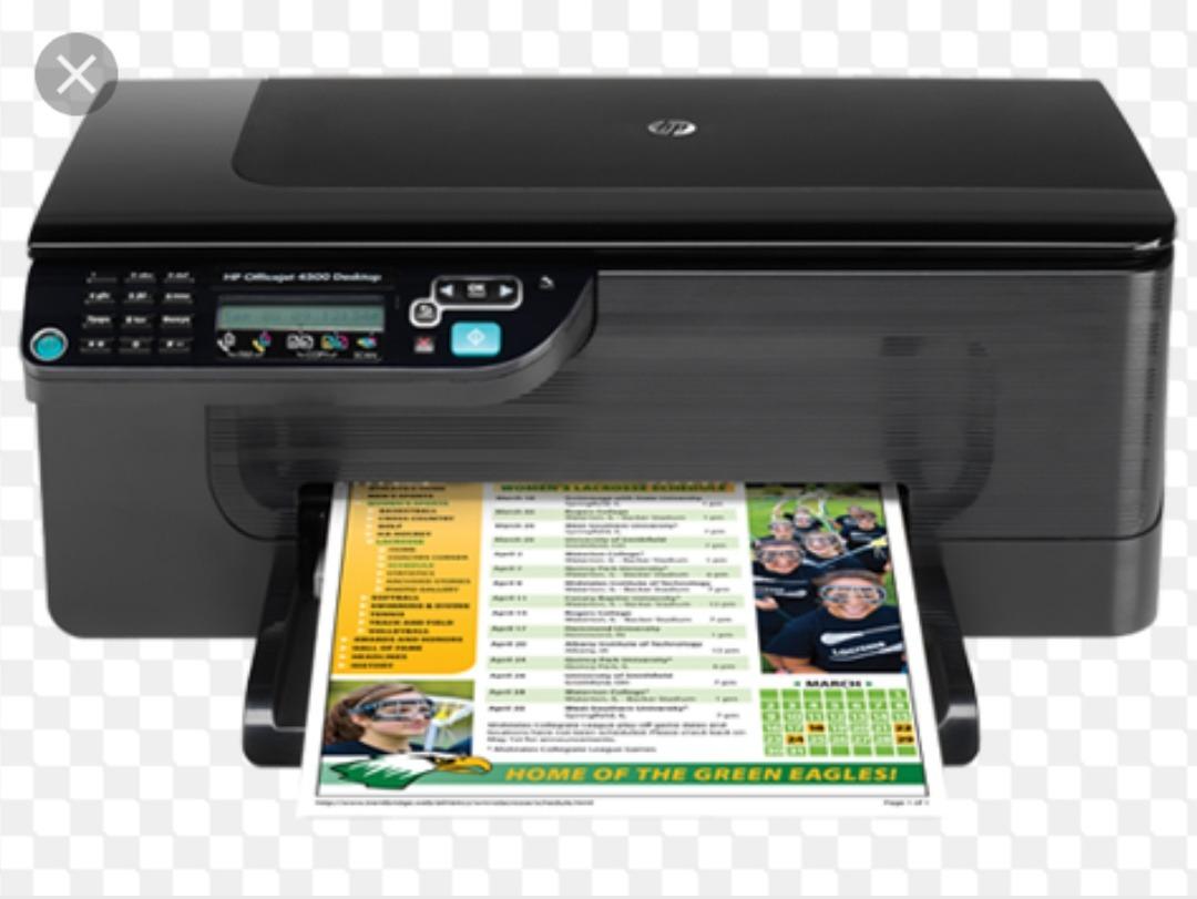 impresora hp officejet 4500 desktop - todo en uno usada. Cargando zoom.