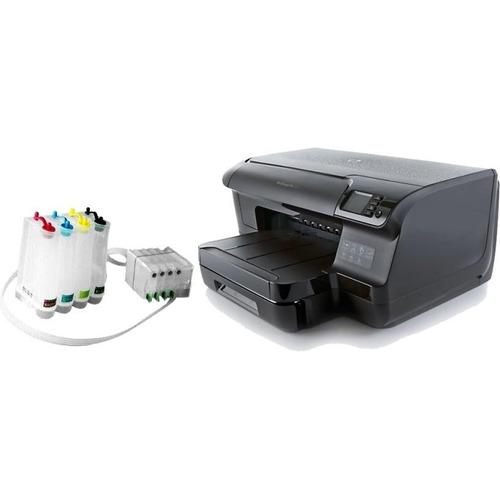 impresora hp officejet pro 8100 con sistema de tinta