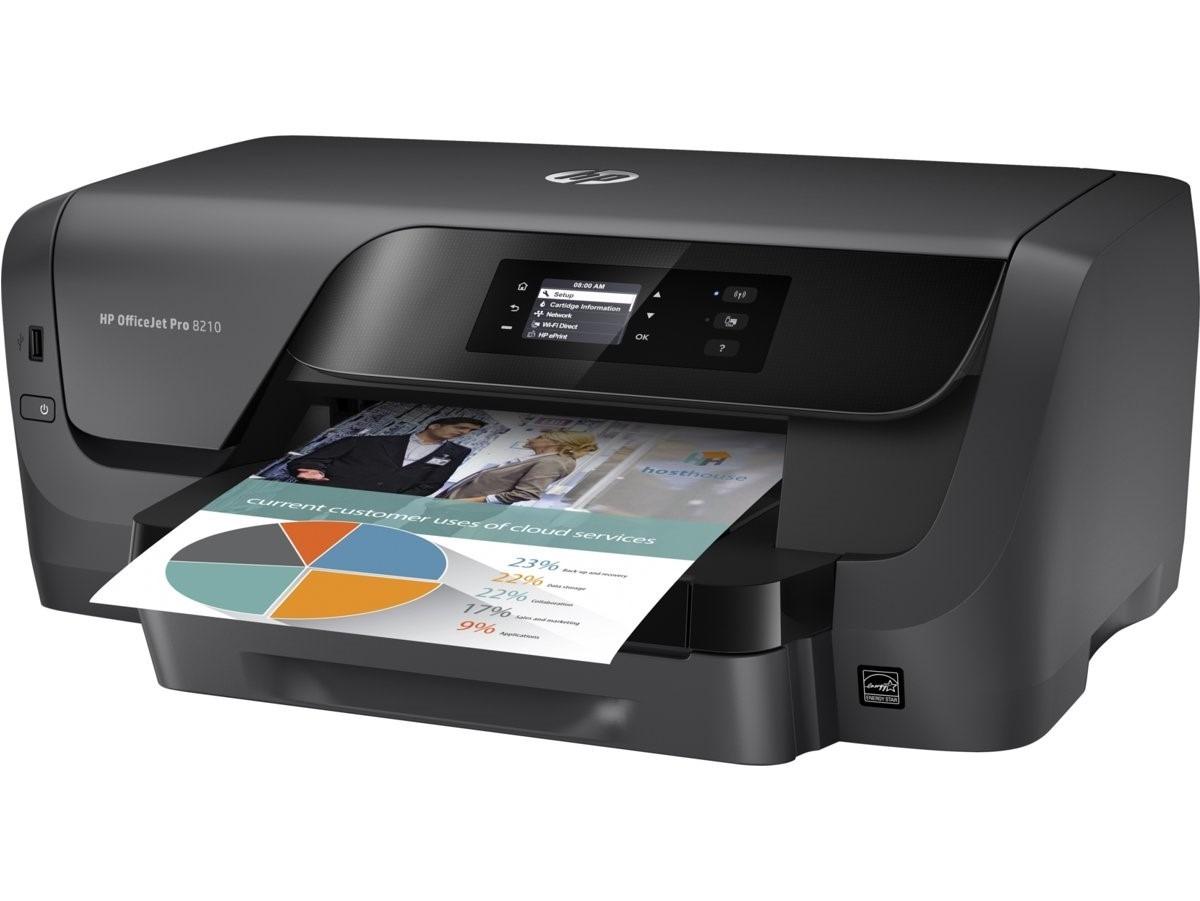 Impresora Hp Oj Pro 8210 Sfp Inyeccion De Tinta