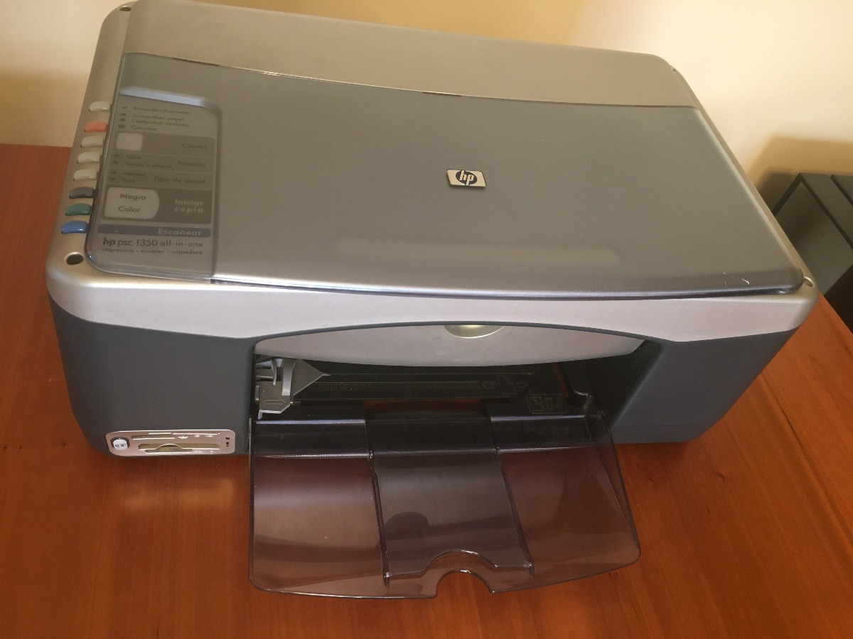 Hp psc 1350 all-in-one printer scanner copier driver.