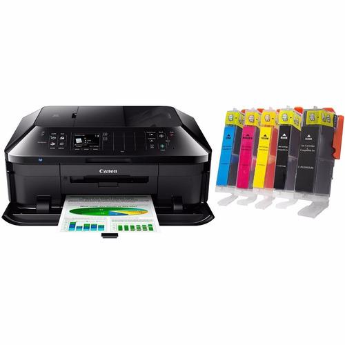 impresora ina lambrica canon pixma mx922  + cartucho color 2