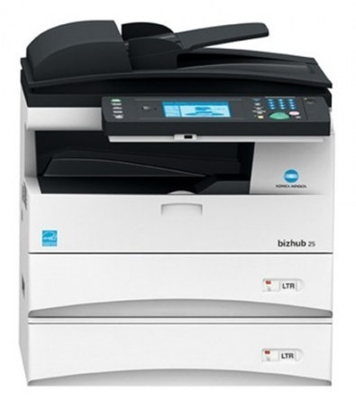 impresora konica minolta bizhub 25
