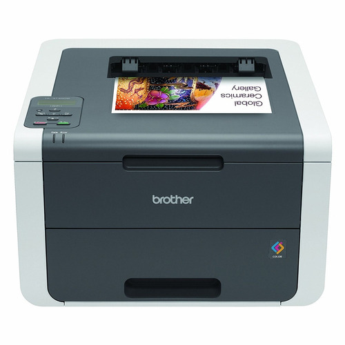 impresora láser brother printer hl3140cw digital color