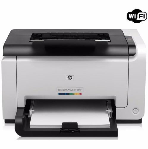 impresora laser color hp cp 1025 nw laserjet pro wifi tienda