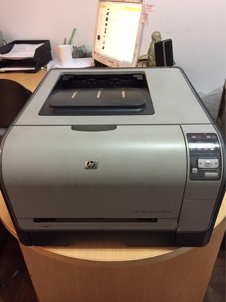 Impresora Laser Color Hp Laserjet C1515n Red Costo Economico ...