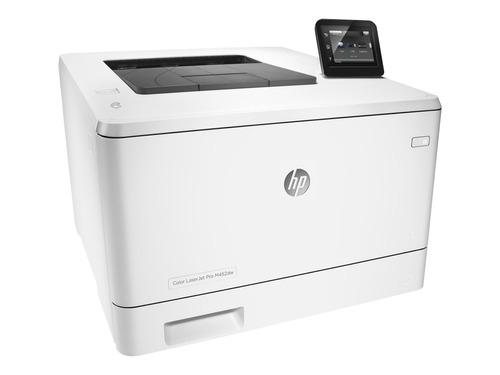 impresora laser color hp m452dw wifi duplex cf394a m452 mg