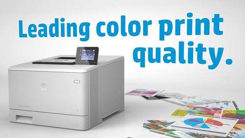 impresora laser color hp m452dw wifi duplex red 27ppm eprint