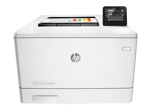 impresora laser color hp m452dw wifi duplex red m452 cuotas