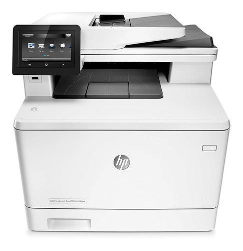 impresora laser color hp multifuncion doble faz wifi red 28
