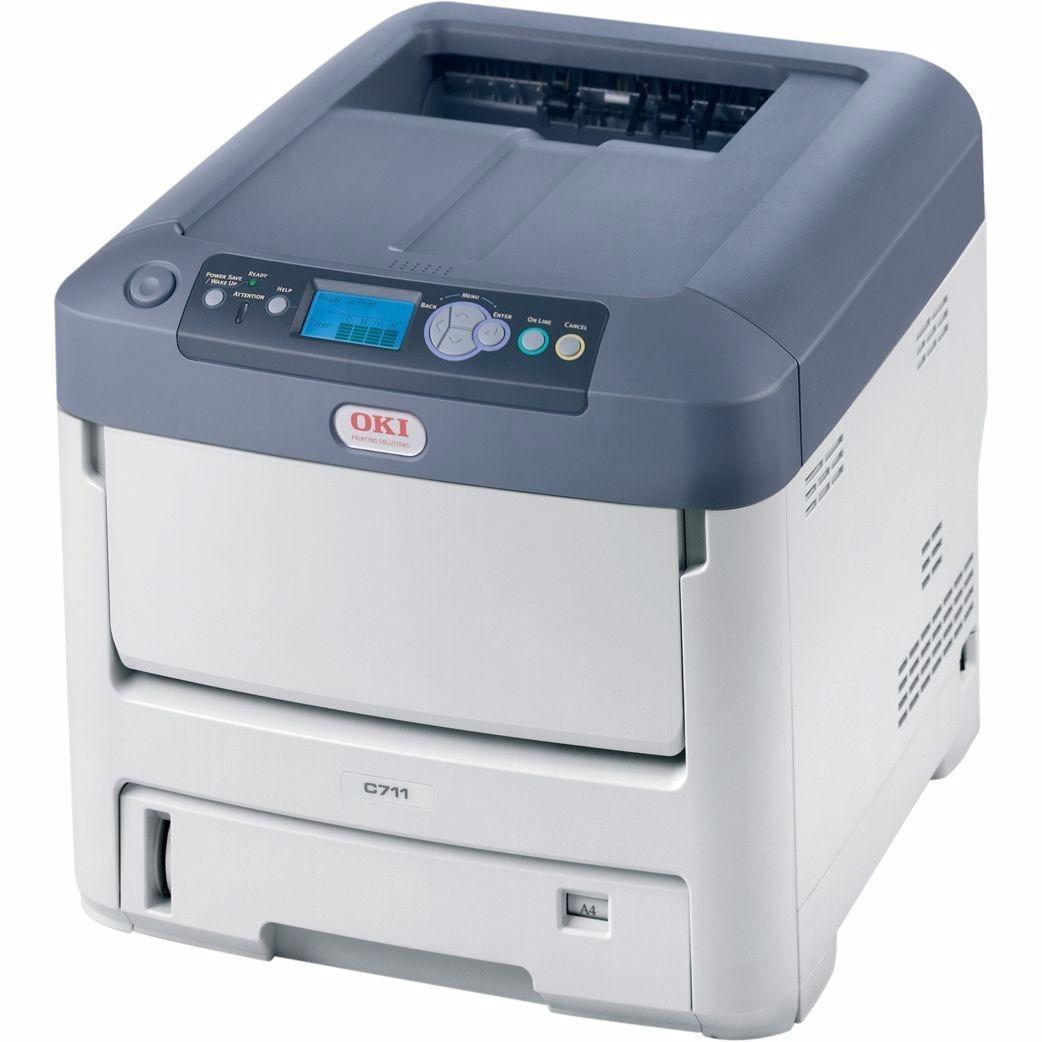 Impresora Láser Color Led Oki C711dn 34ppm A4 Envío Grátis ...