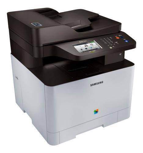 impresora laser color samsung c1860fw multifunción wifi red