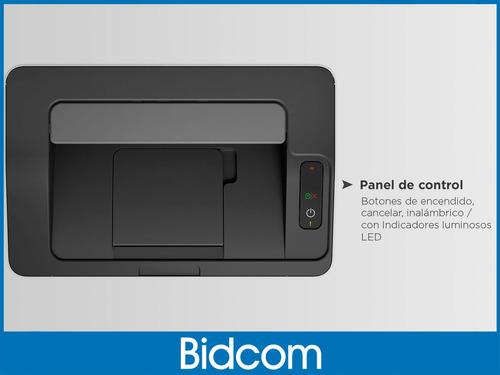 impresora laser hp 107w wifi m107w reemp m12 m1102 m15w m15 bidcom ¡18 cuotas sin interés!