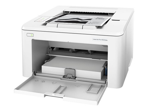 impresora laser hp laserjet pro m203dw wifi - blanco