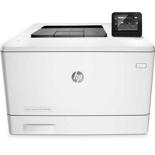 impresora laser hp laserjet pro m452dw 28 ppm0 wifi color