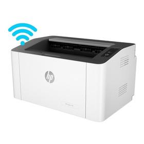 Impresora Laser Hp M107w 107w Wifi Nueva Blanco Y Negro