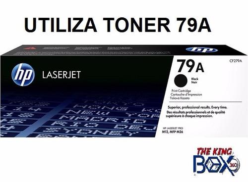 impresora laser hp m12w laserjet pro wifi