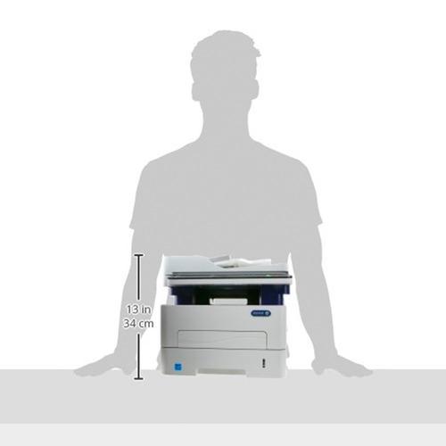 impresora laser mono xerox wc 3225 mfp 29ppm red fax