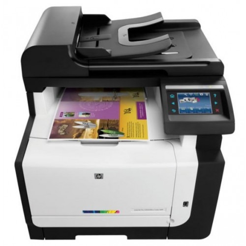 impresora laser multifuncion color hp laserjet pro cm1415fnw