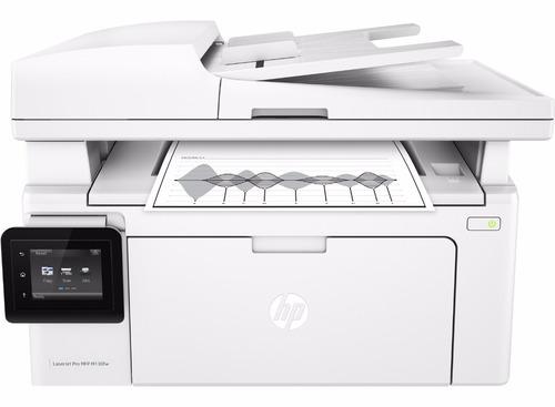 impresora laser multifuncion hp m130fw wifi m130 6 cuotas