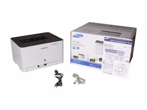 impresora laser sansung color clp-365 wifi / envios gratis