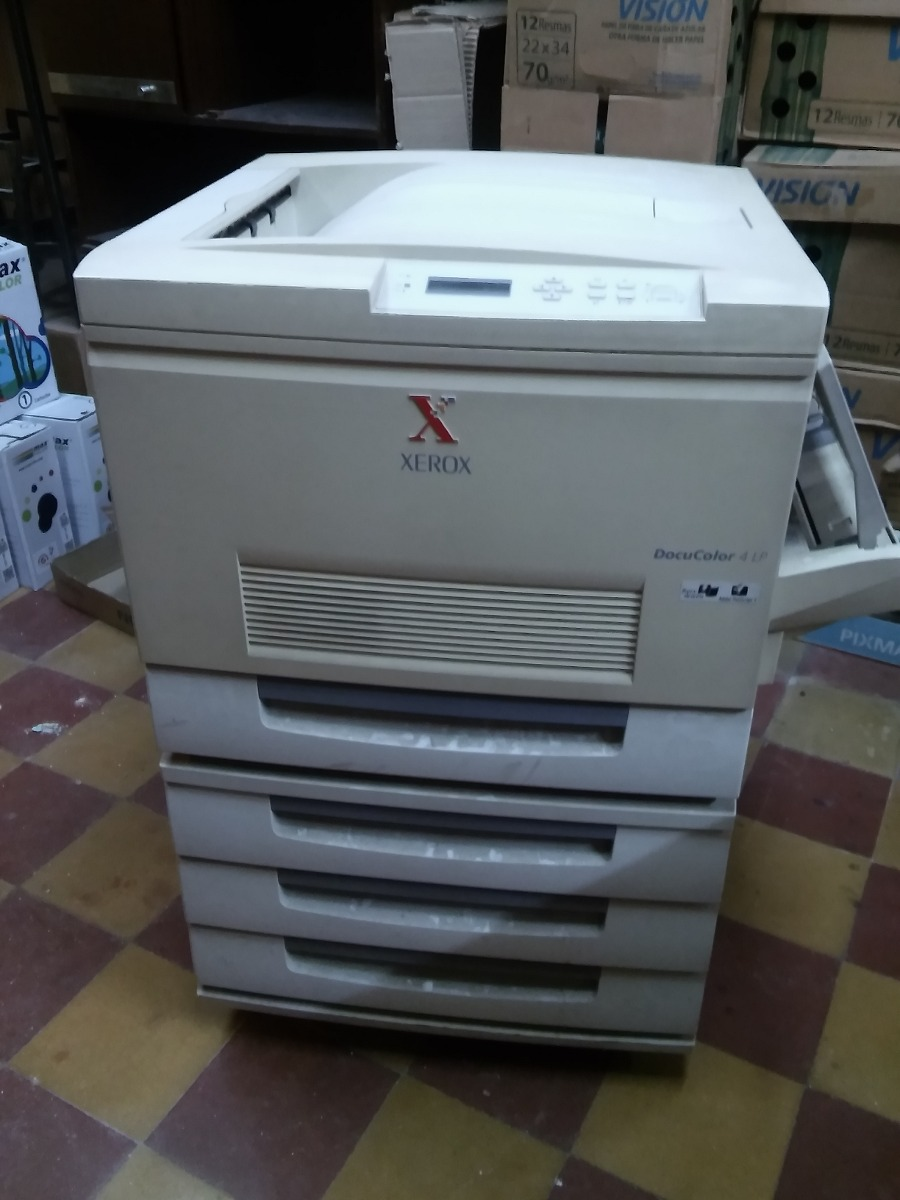 New Drivers: Xerox DocuColor 4 LP