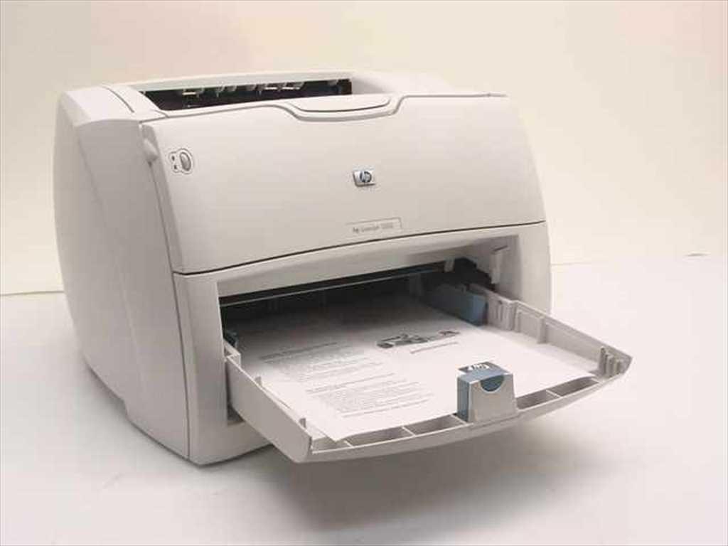 impresora laserjet hp 1300 excelente estado usa toner 13a 1 en mercado libre. Black Bedroom Furniture Sets. Home Design Ideas